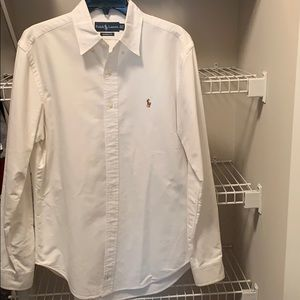 Ralph Lauren Classic Fit Button Down Dress Shirt